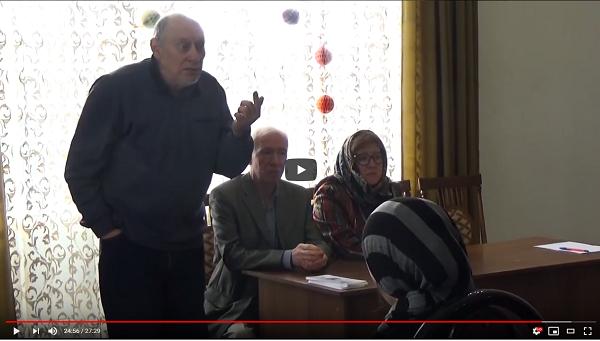 Встреча с семьями Ногинского района